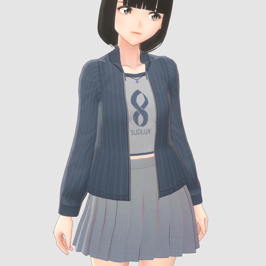 [VRoid]カジュアルジャージセット
