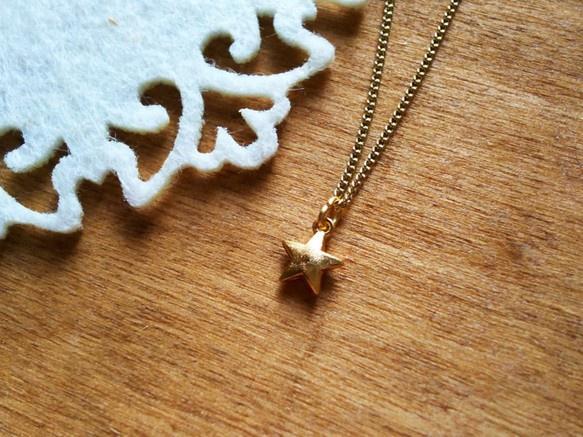 ミニミニ一番星のネックレス