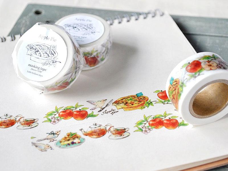 Apple Pie masking tape