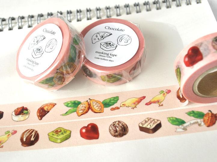 Chocolate masking tape(pink)