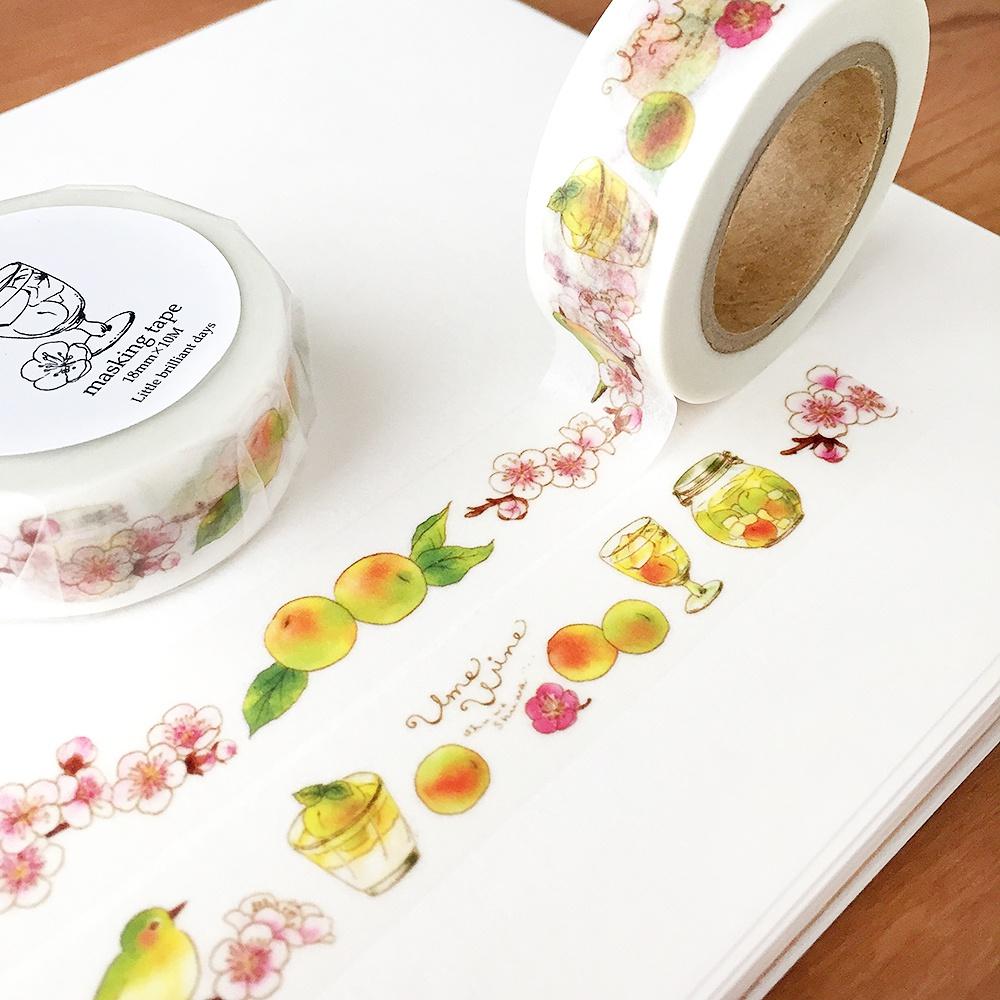 Ume wine masking tape