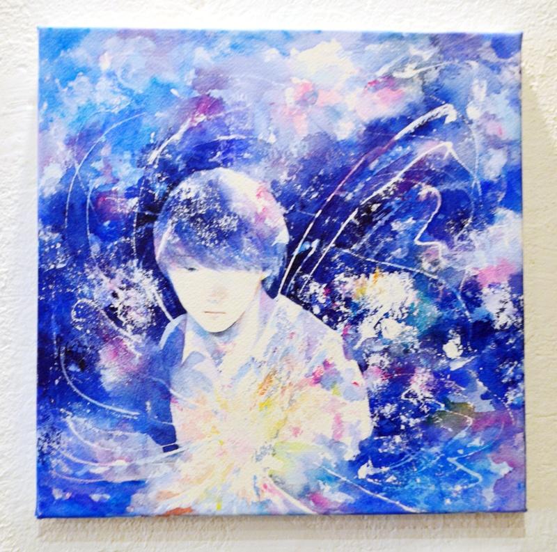 「青い灯」原画