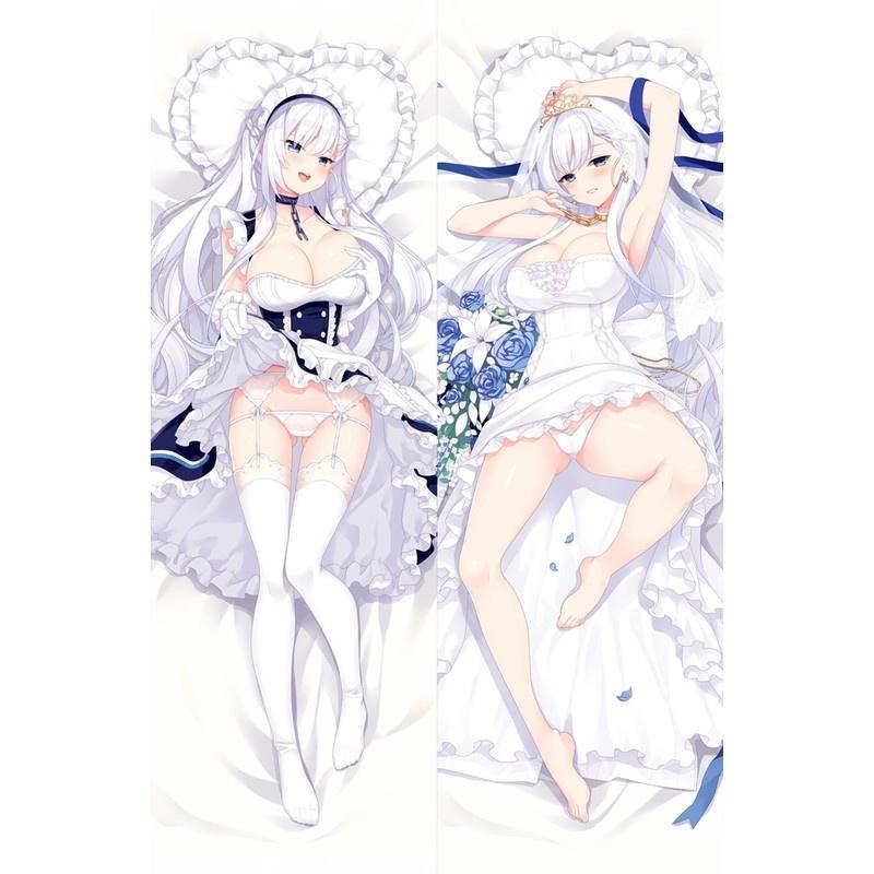 アズールレーン ベルファスト 抱き枕カバー 碧藍航線 アズレン 艦B ケッコン クラダリングの誓い 花嫁ベルファスト D-M.N/22JiGen=Billie dmnm10006-1