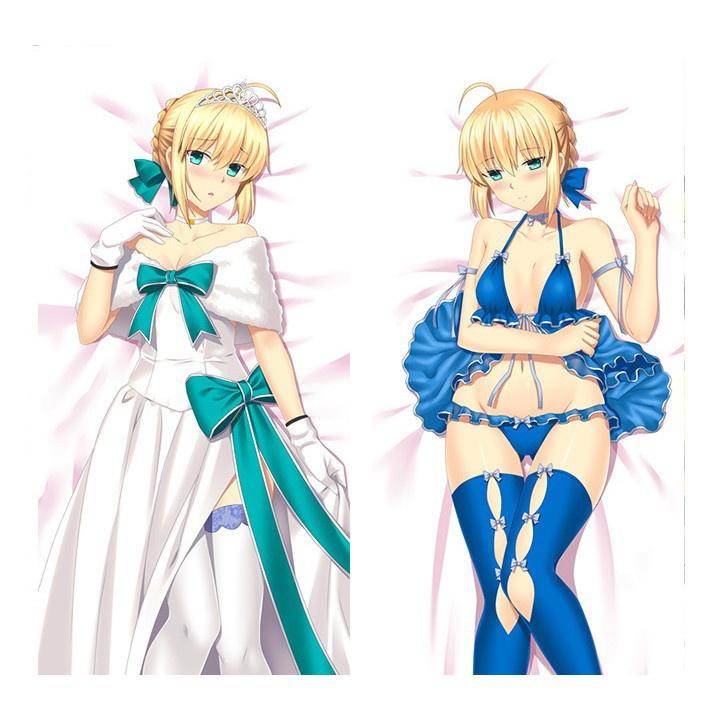 Fate アルトリア・ペンドラゴン 抱き枕カバー 1/2サイズ 萌工房 smz09962-1