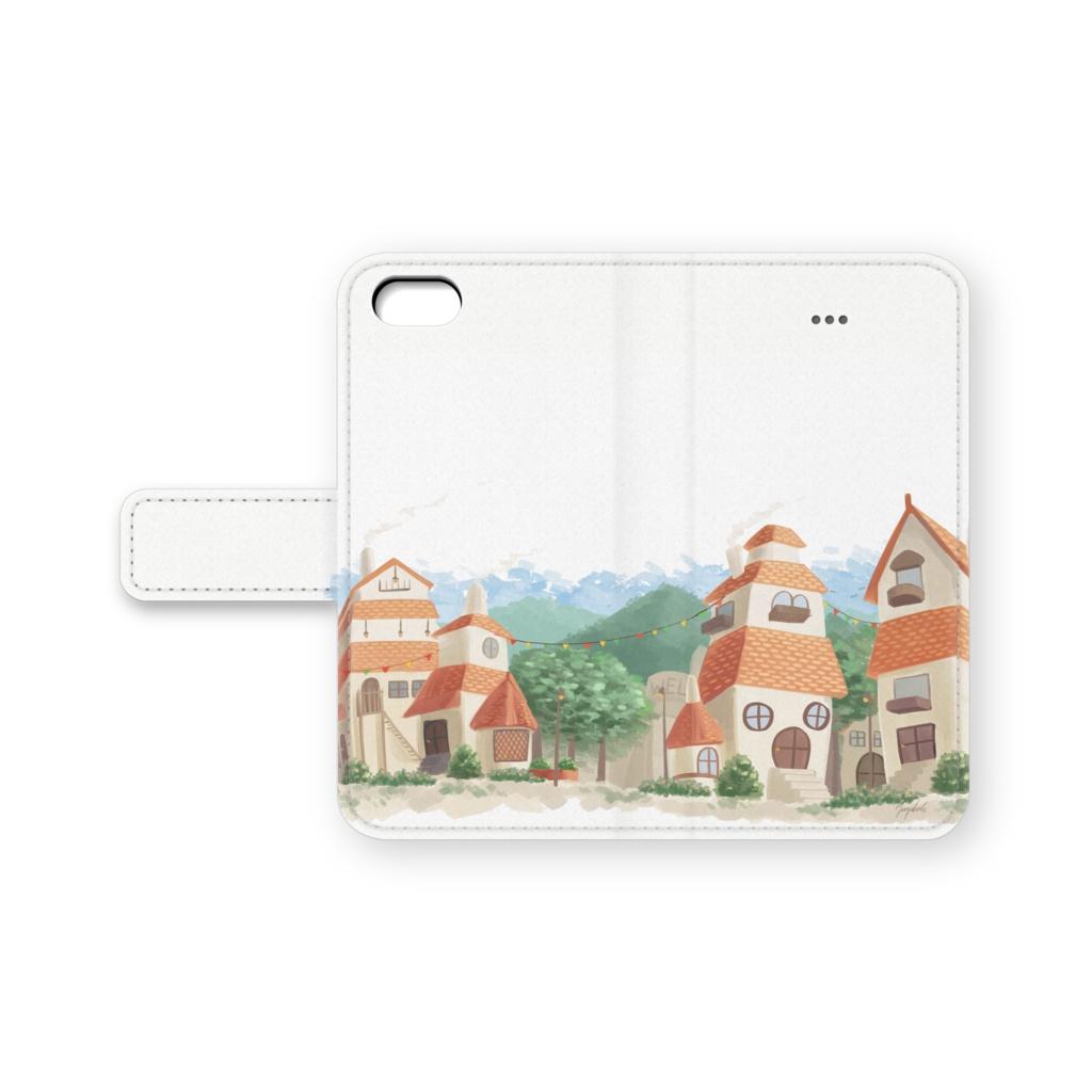 かわいいお家のiPhone5ケース