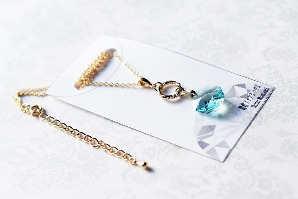 宝石の国イメージアクセサリー フォスフォフィライト ネックレス