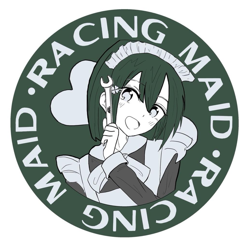 RACING MAID ステッカー