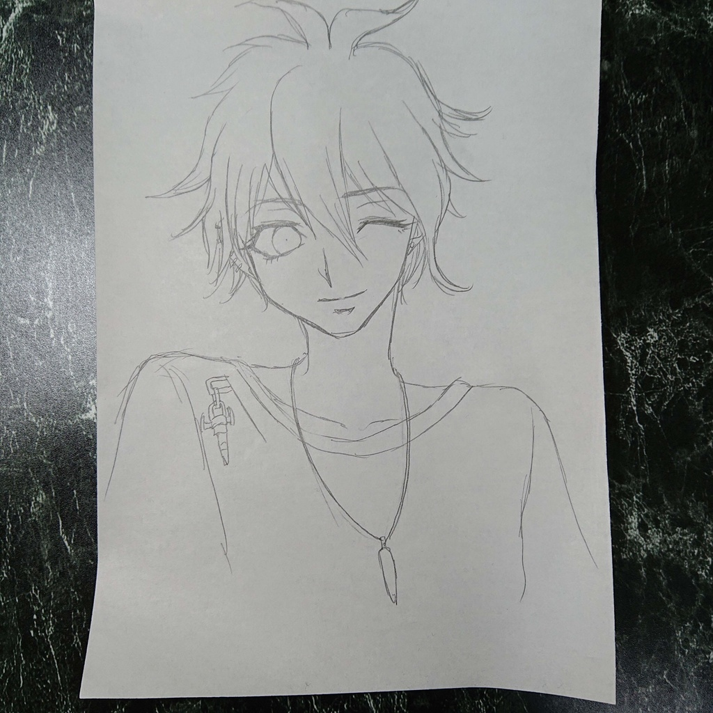 原画:天海蘭太郎・シャーペンB