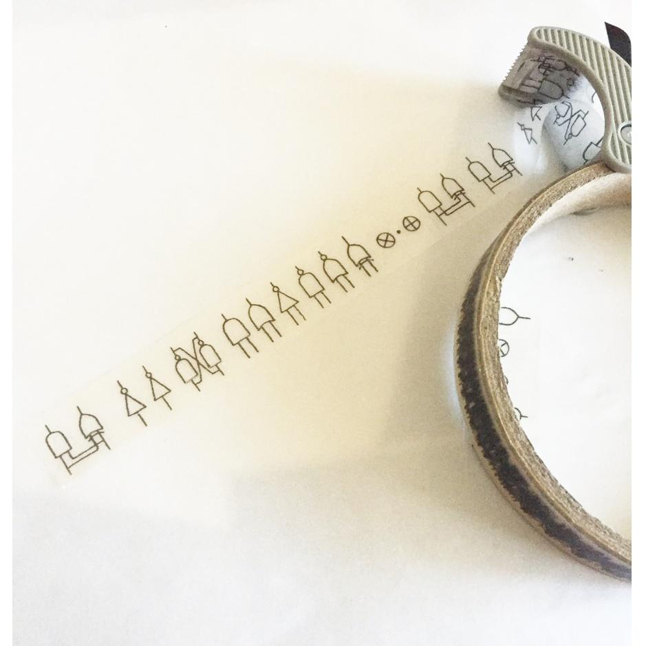 論理演算子テープ