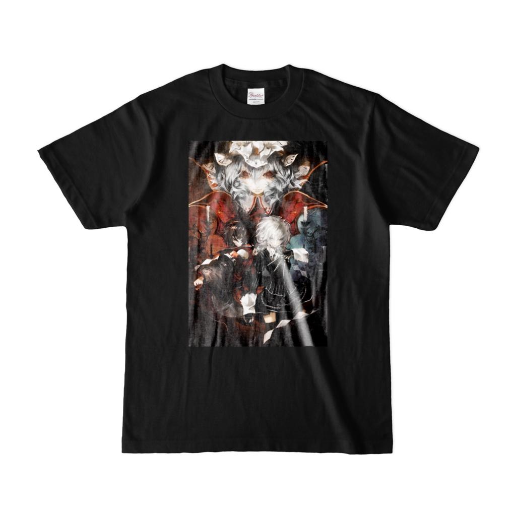 紅魔城伝説 I&II 晩杯あきらイラストTシャツ[Premium Pack Jacket]