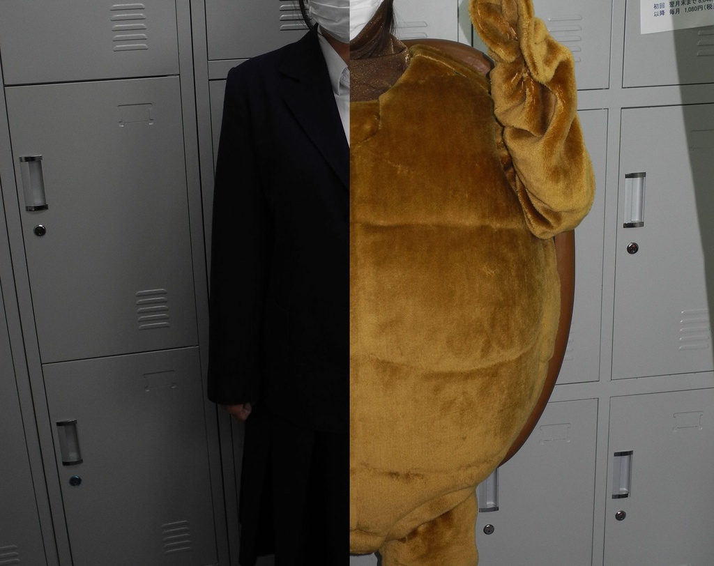 02 Kigurumi=Back_Stage_Turtle