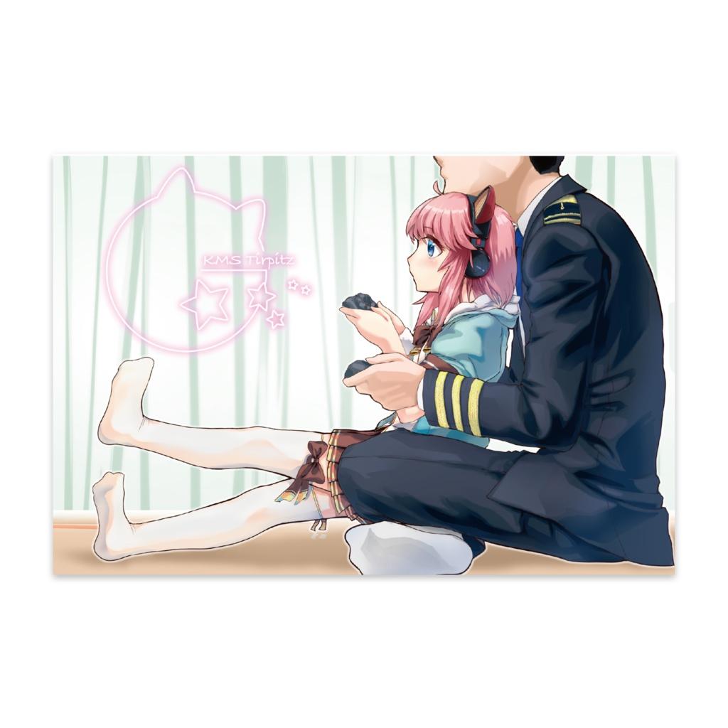 戦艦少女Rポストカード ティルピッツ(子供)