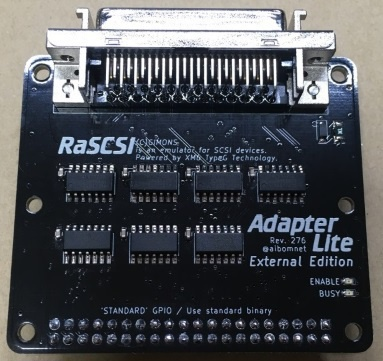 RaSCSI Adapter Lite ExternalEdition (標準ピッチ)
