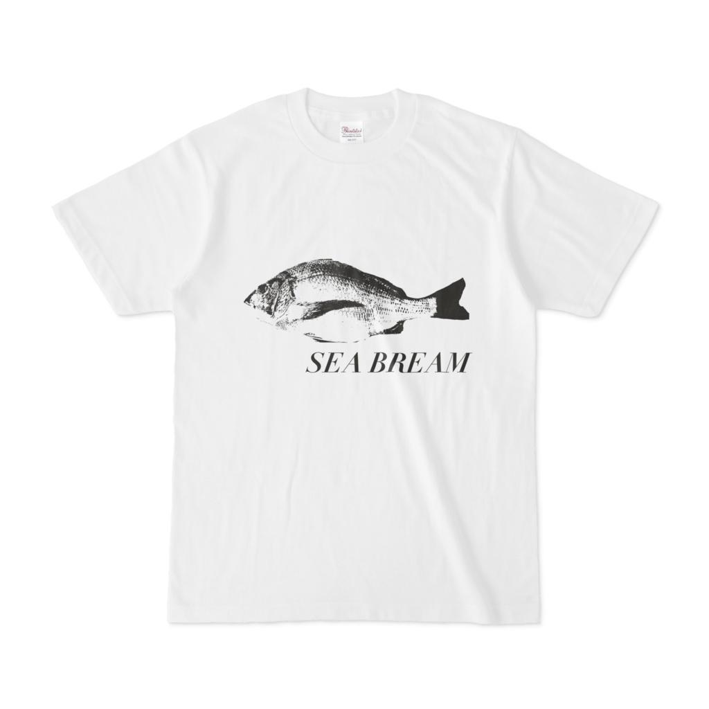 シンプルデザインTシャツ SEA BREAM