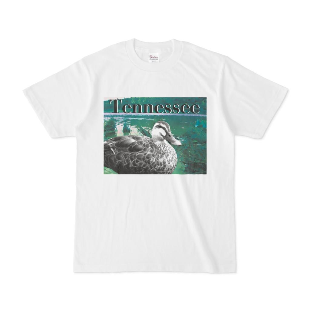 シンプルデザインTシャツ 鳥Tennessee
