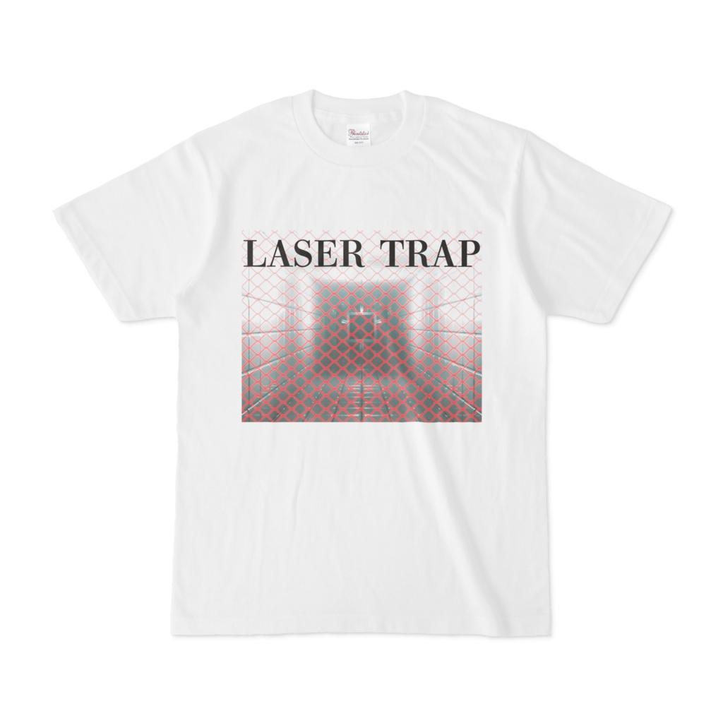 シンプルデザインTシャツ LASER TRAP