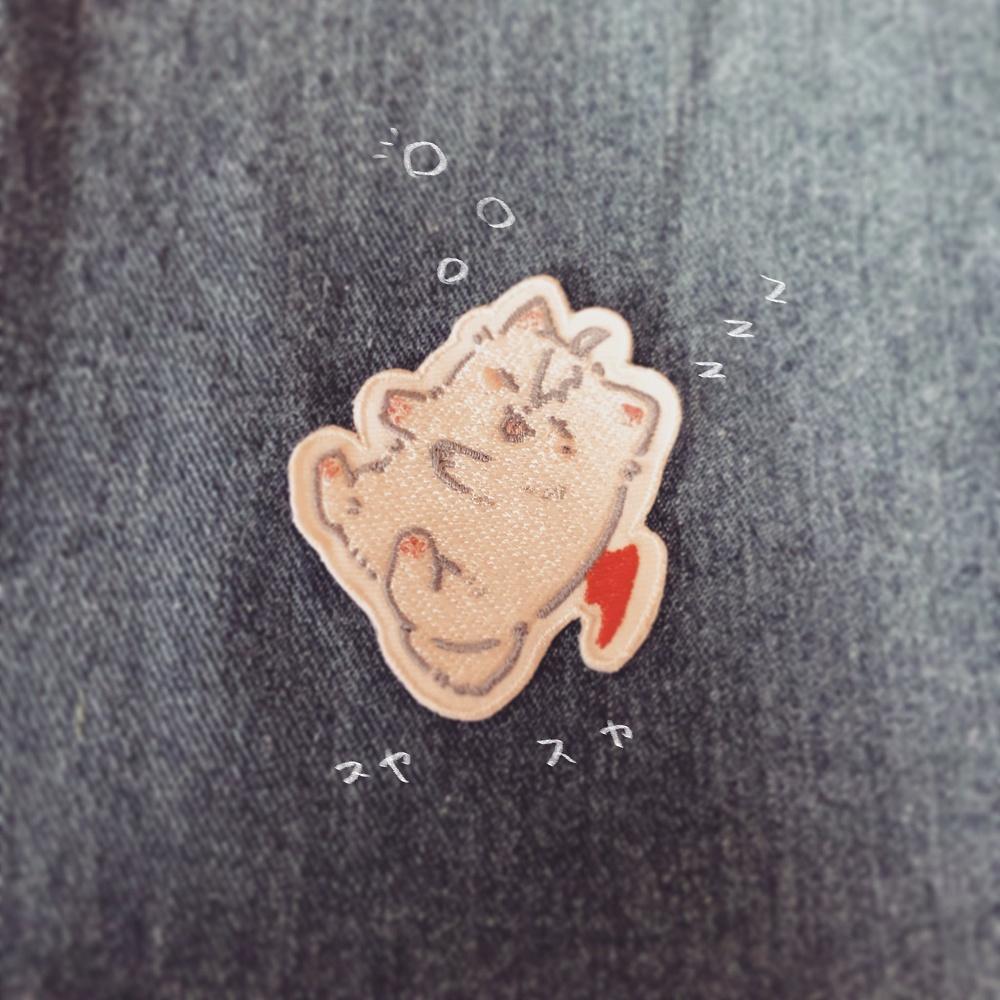 【非公式】POYASHIMIポメずは刺繍ワッペン