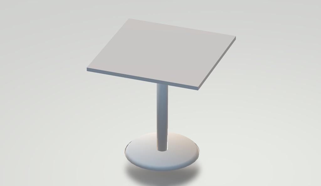 3Dモデル テーブル(白) ゲーム・漫画等利用可