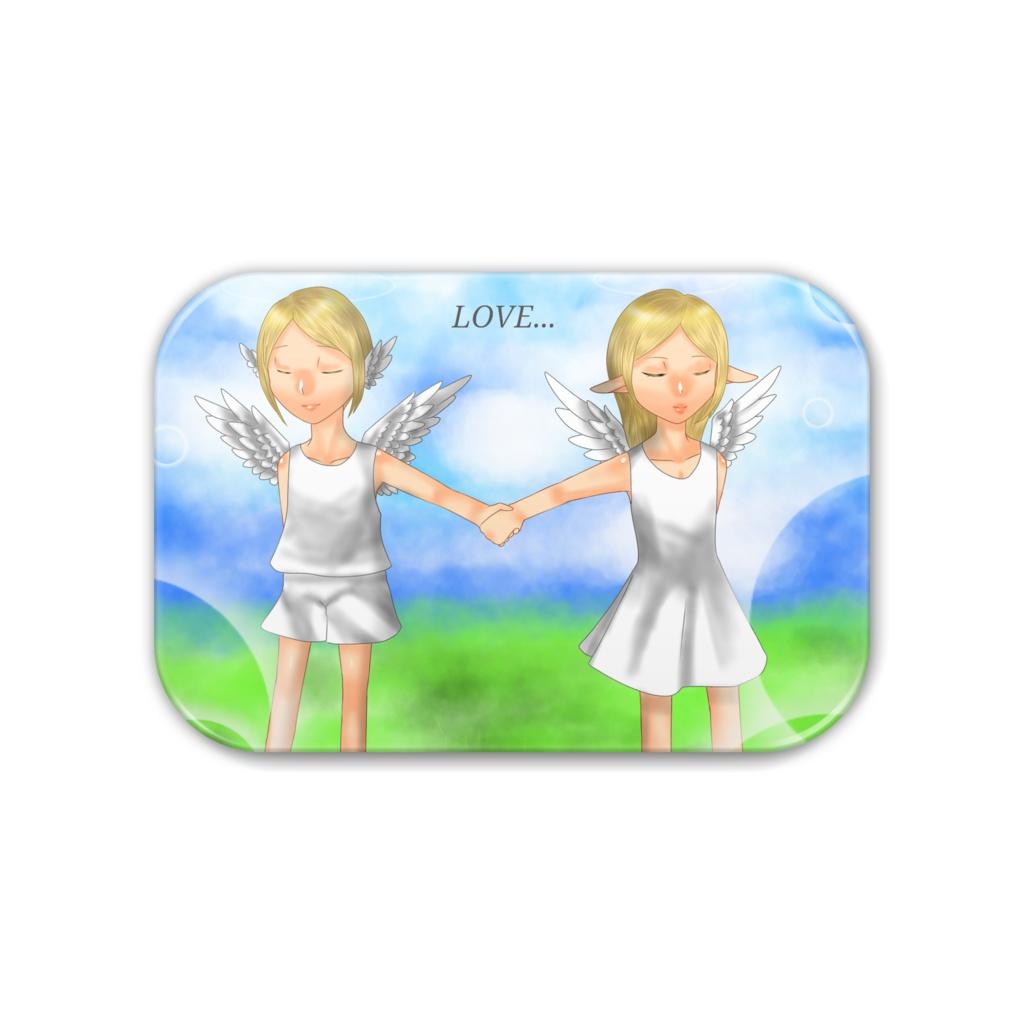小天使達の恋 缶バッジ
