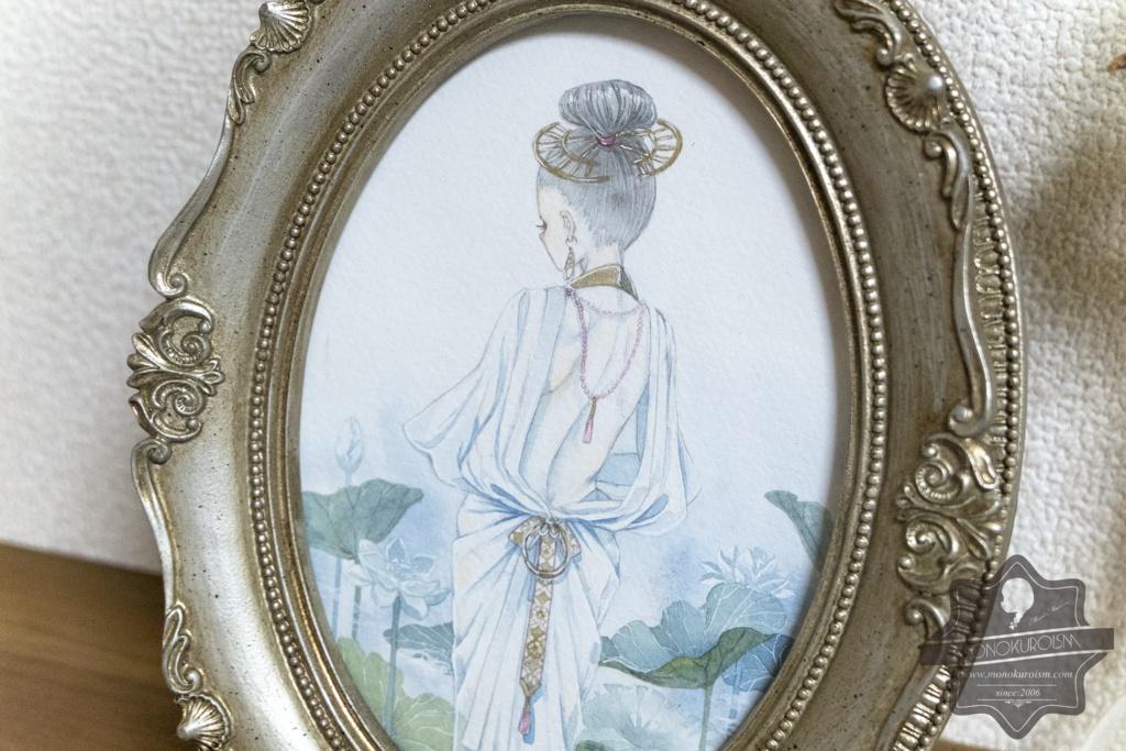 原画「Lotus Collection」オリジナル作品 / アクリル / 岬ましろ