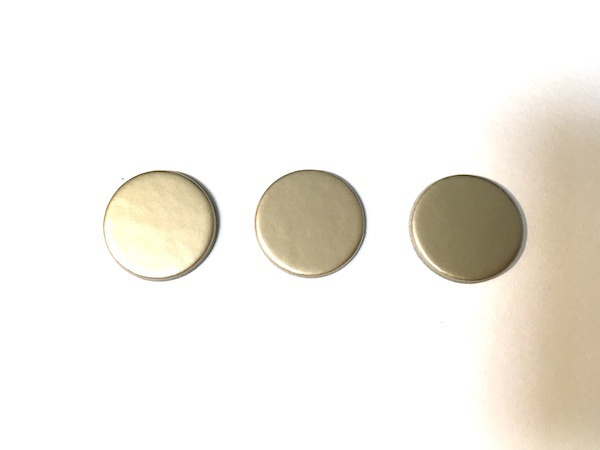【ボードゲーム素材】円形金チップ(直径20mm)
