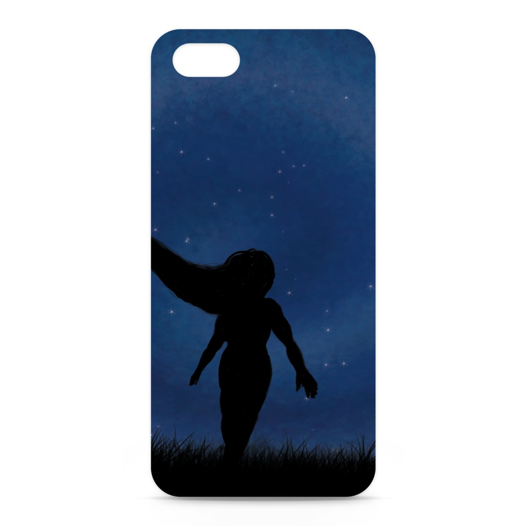 stress skies and stress shadows iPhone case