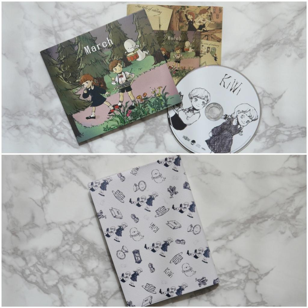 【再販】2点セット(Marchシリーズ) CDアルバム+ブックカバー