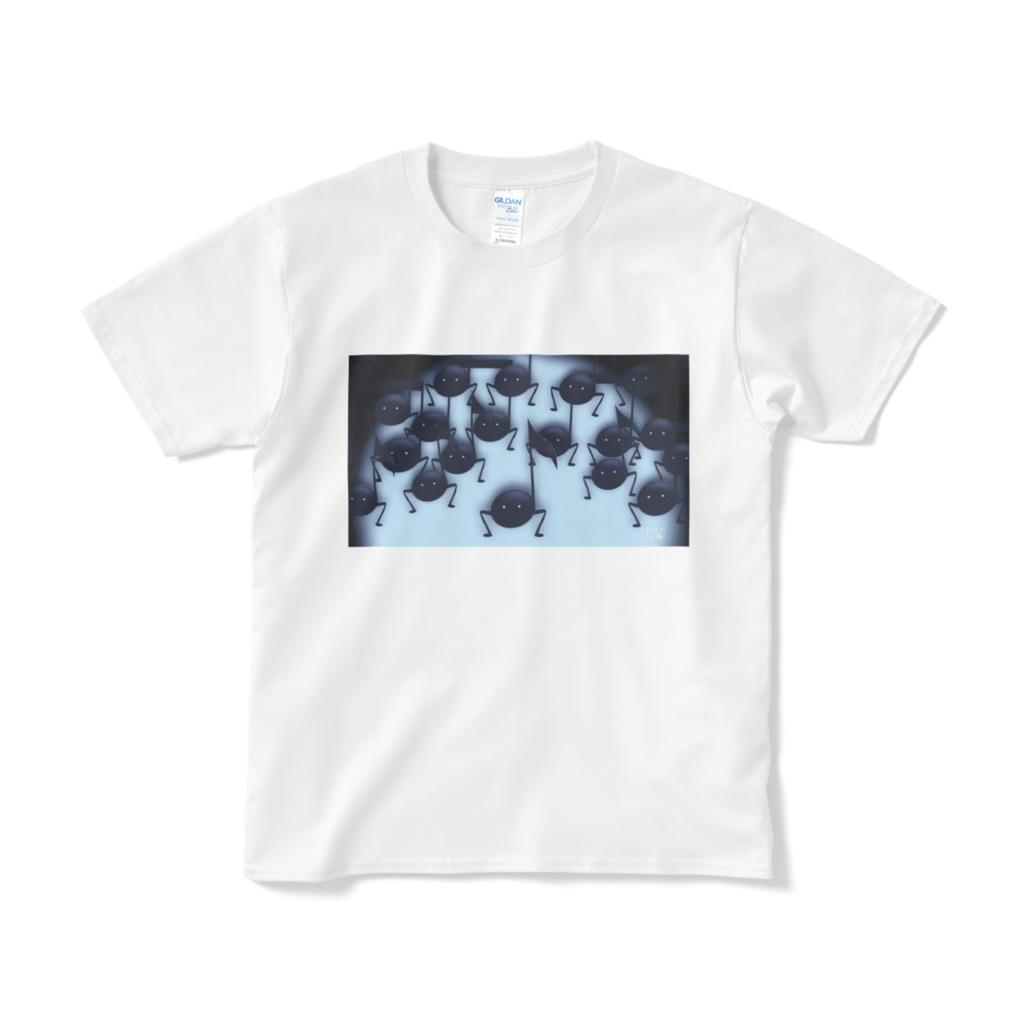 音虫をつかまえろ!・Tシャツ(ホワイト)