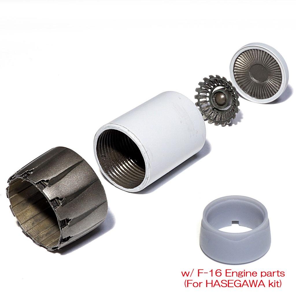 F110エンジンノズル  オープン(1/72):三菱F-2、F-16、etc
