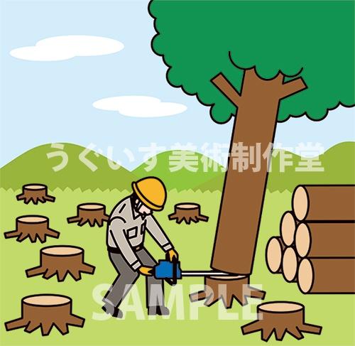 伐採 森林