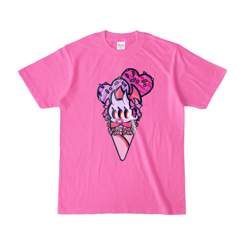 onikko-ice cream T(pink)