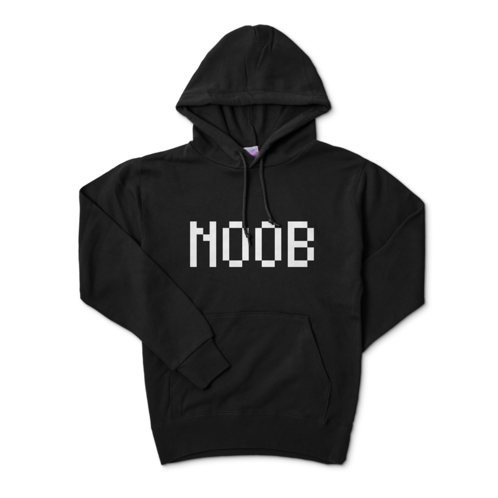 NOOBパーカー(黒)