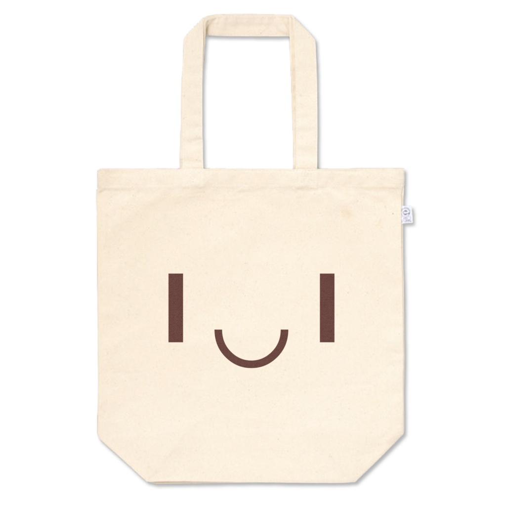 ニコ文字 トートバッグ