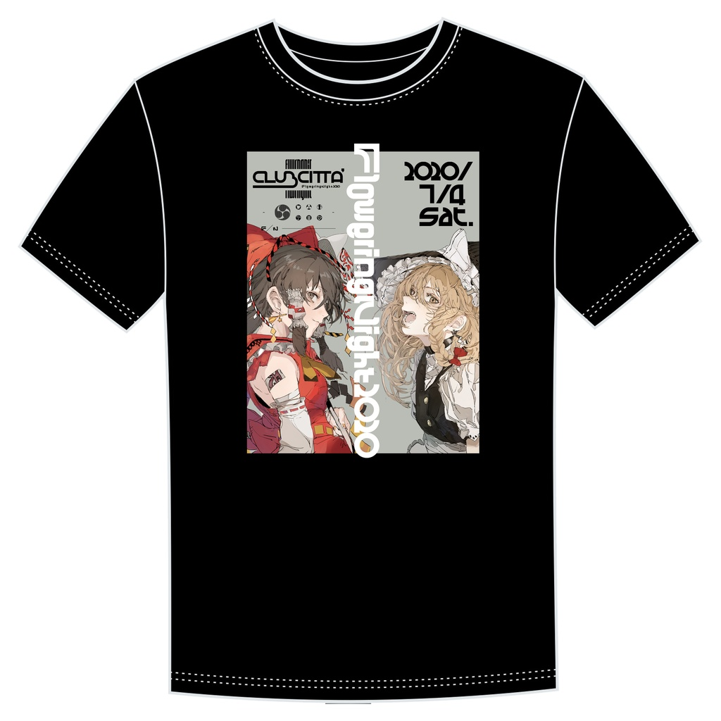 FloweringNight2020 公式Tシャツ