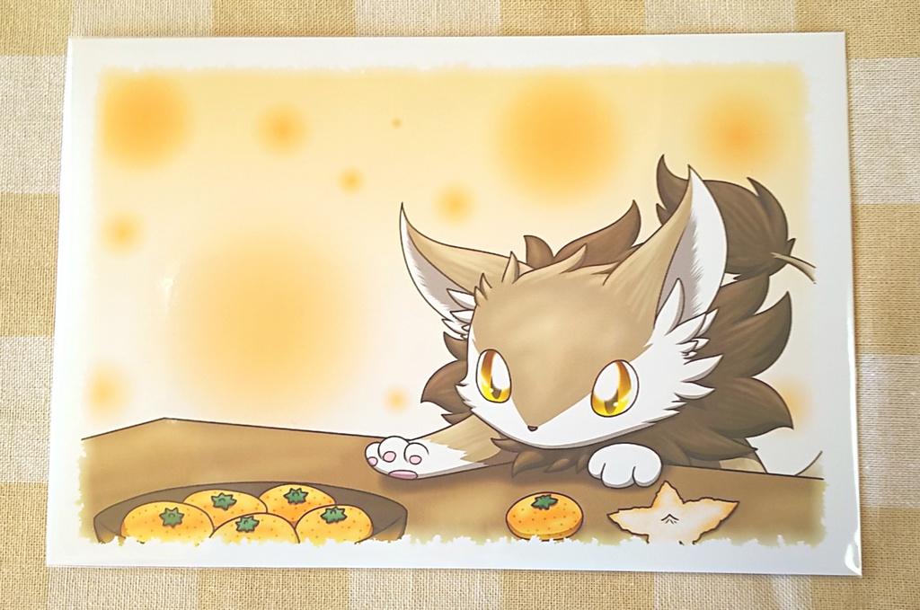 ポストカード(レオぬこ)