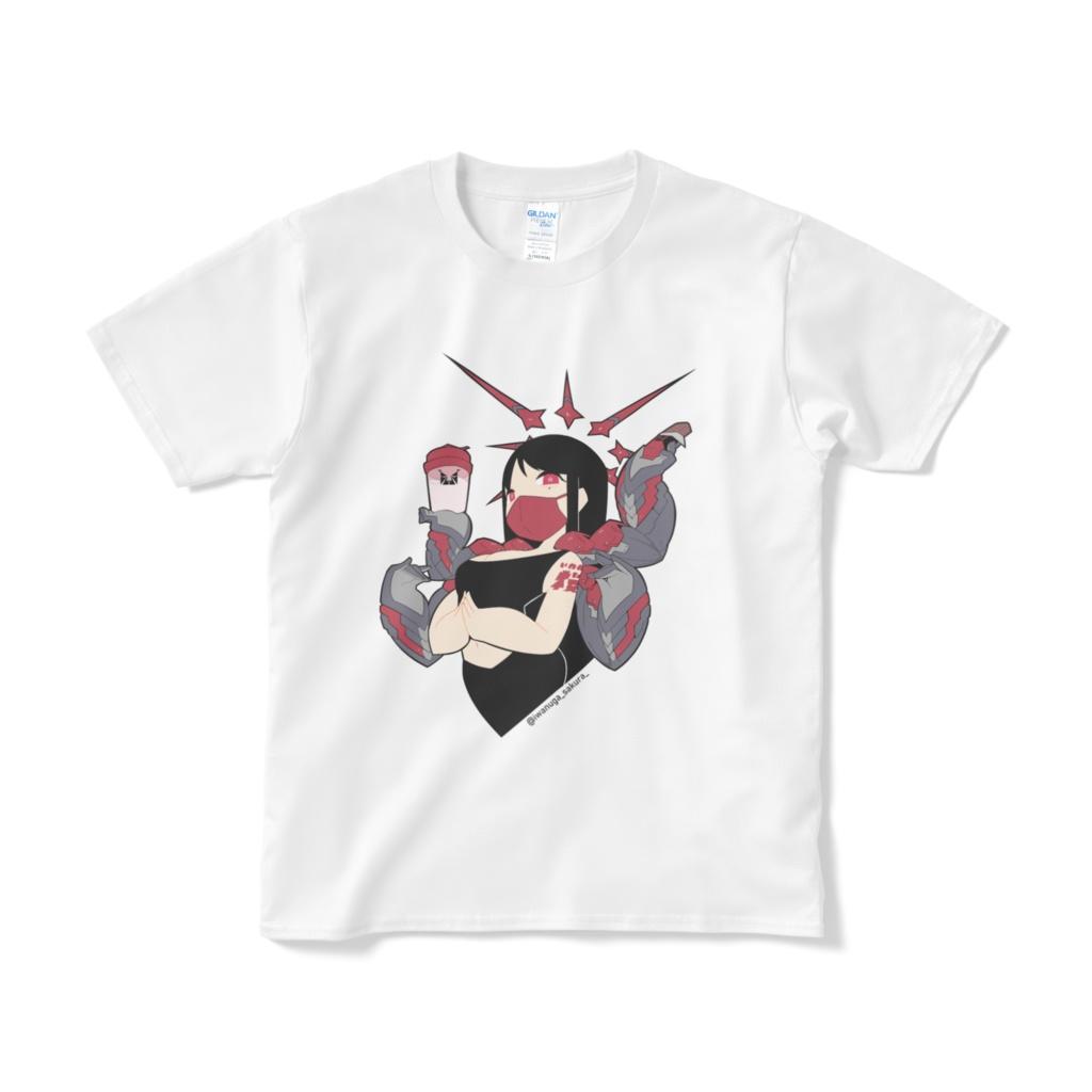 いわぬが桜×いわこ脳 コラボTシャツ