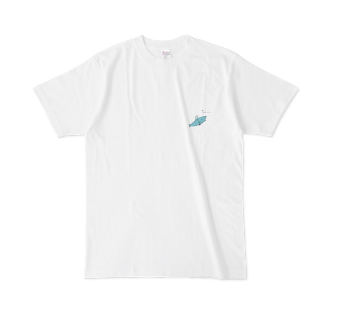 サメになりたいシャツ