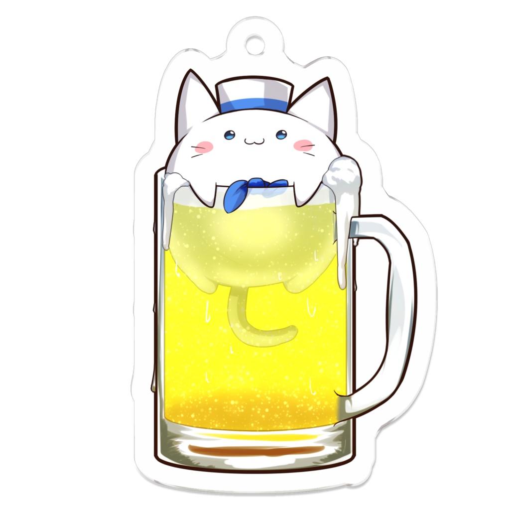 オフニャ(ビール)アクリルキーホルダー