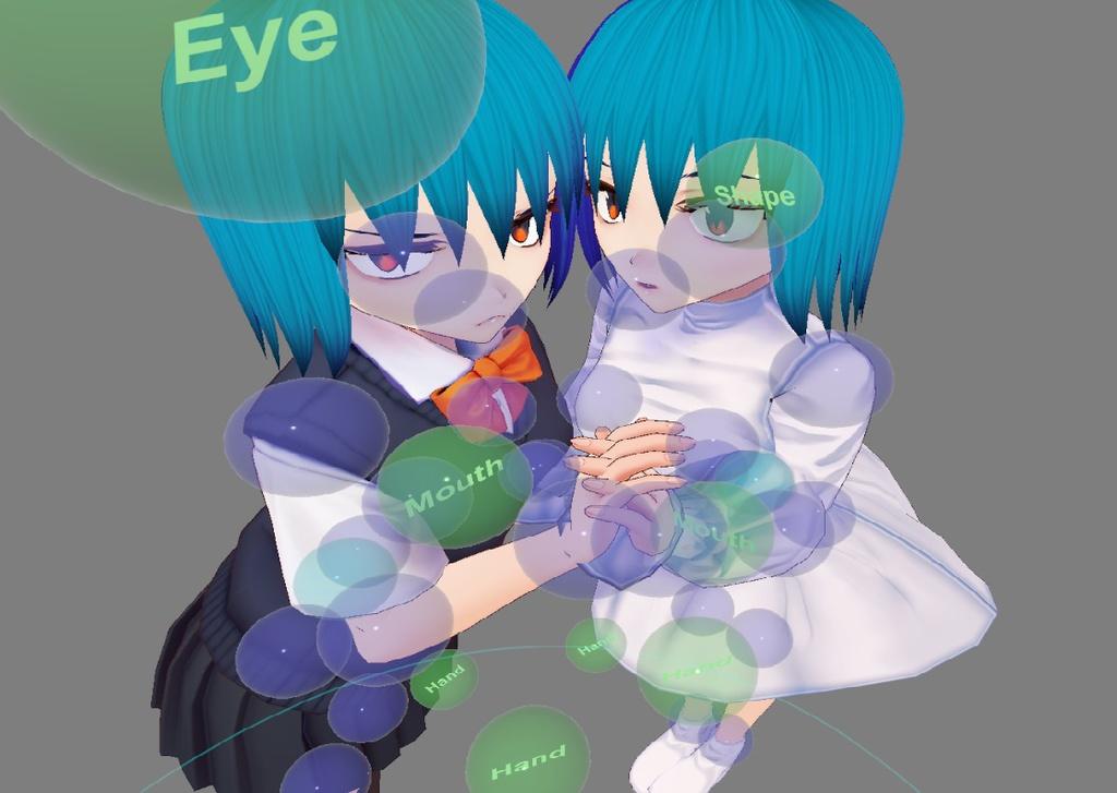 VRMお人形遊び