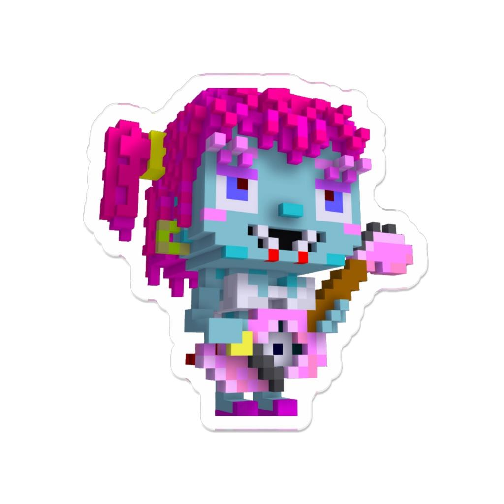 Alice-Guitar_ver ( Zombie-Girl ) - Acrylic Badge