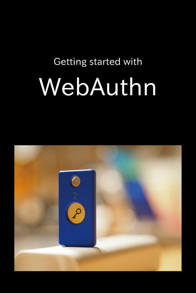 Getting started with WebAuthn