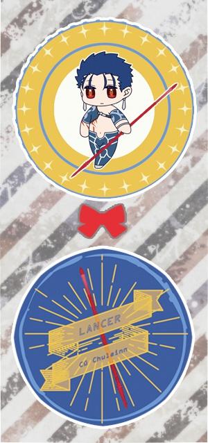 【缶バッチ2個セット】クー・フーリン(槍)