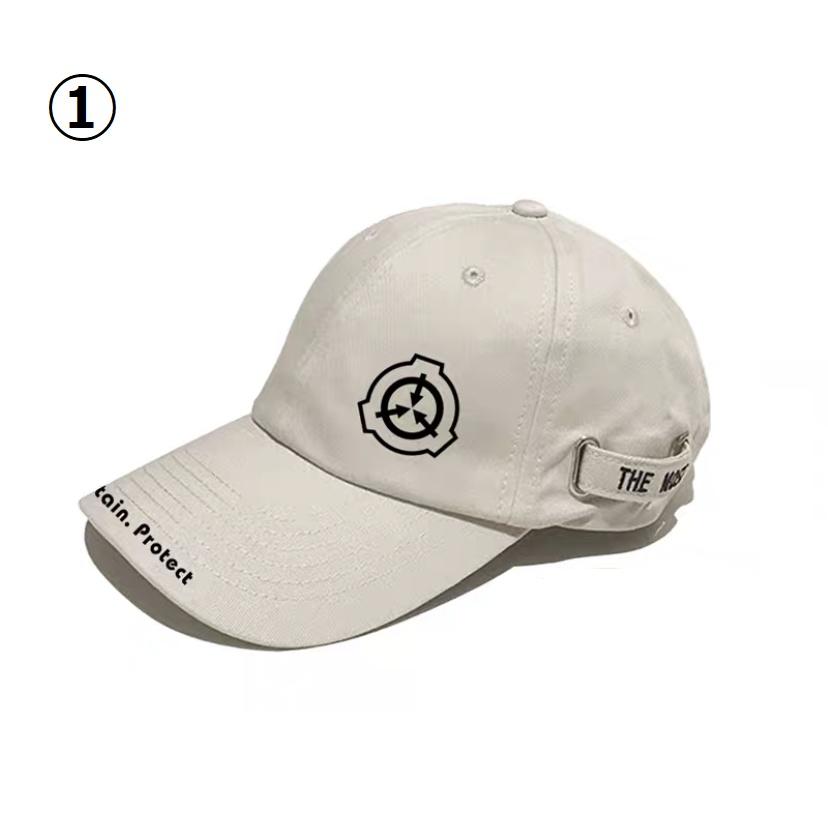 【SCP財団】ベイジュ 7種キャップ  帽子