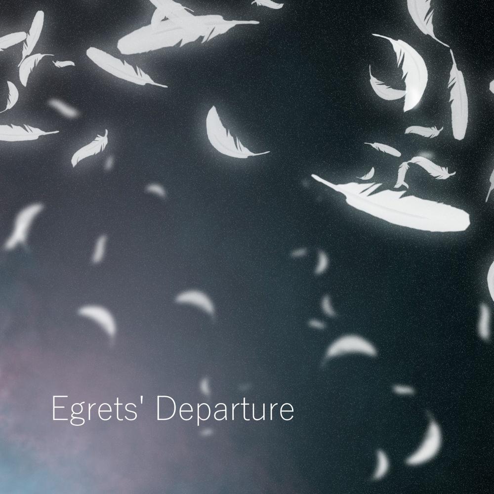 Egrets' Departure
