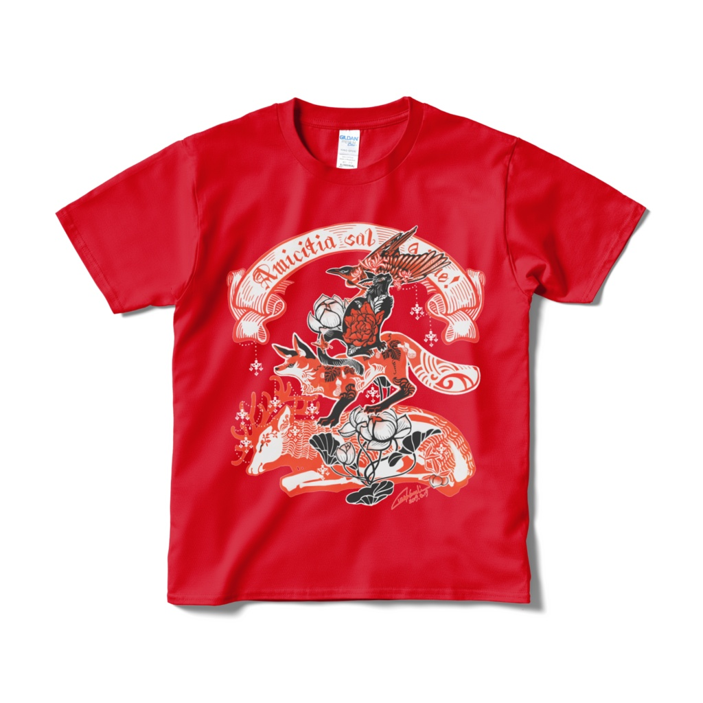 ブレーメンTシャツBタイプ(赤)