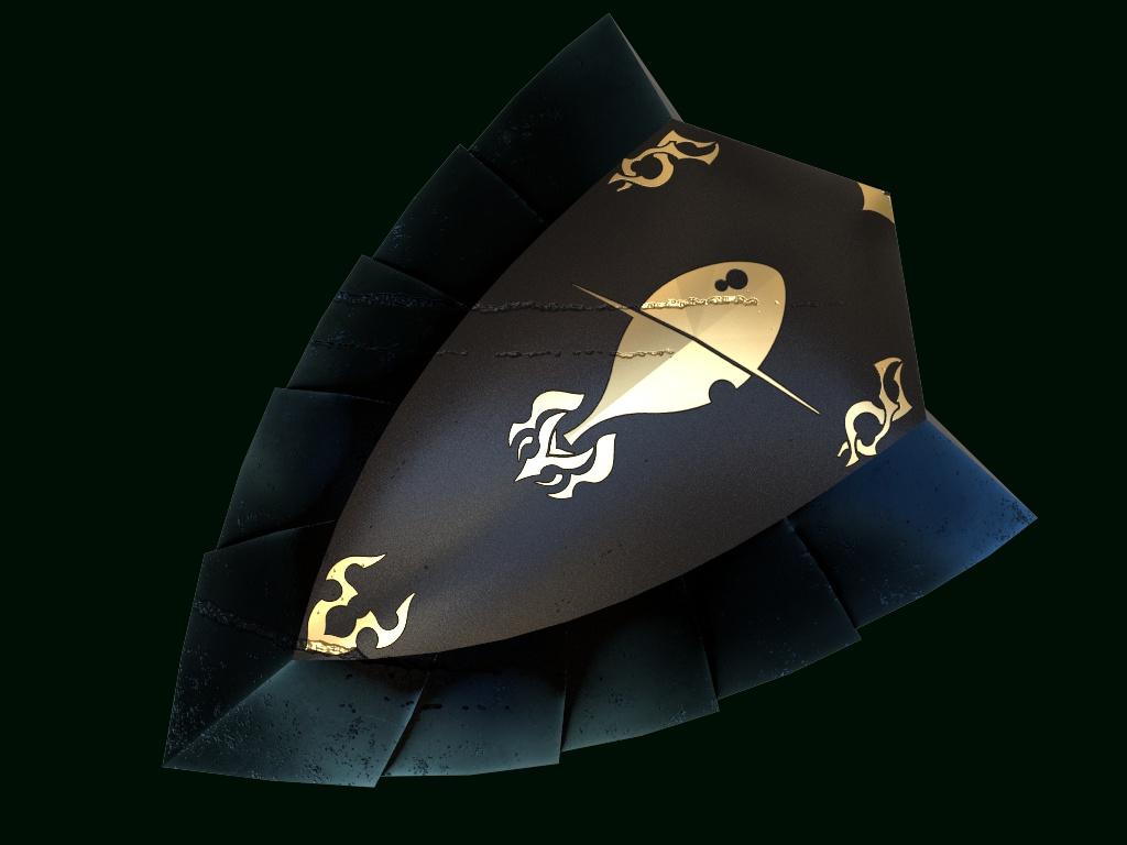 """歩兵用小型盾 """"Scale Shield"""""""