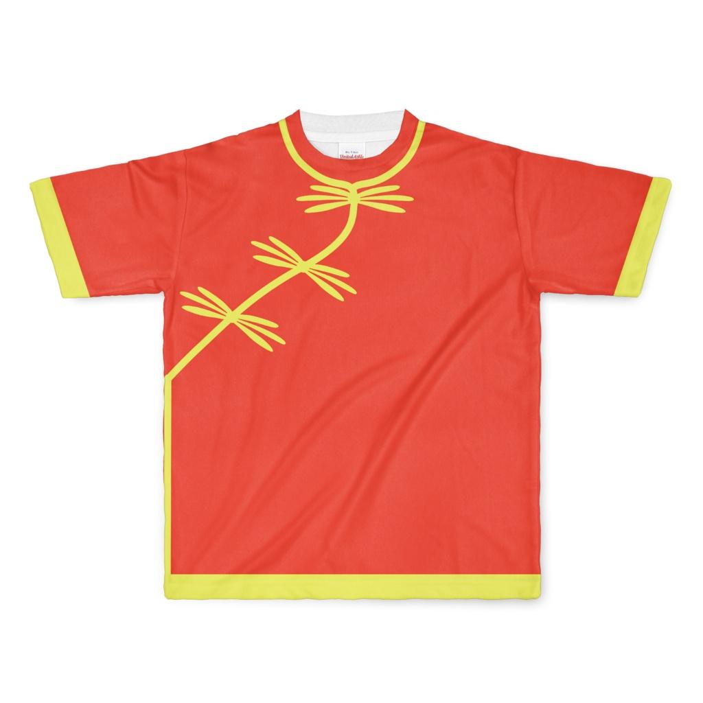 なんちゃってRPG Tシャツ(赤/黄)Lサイズ