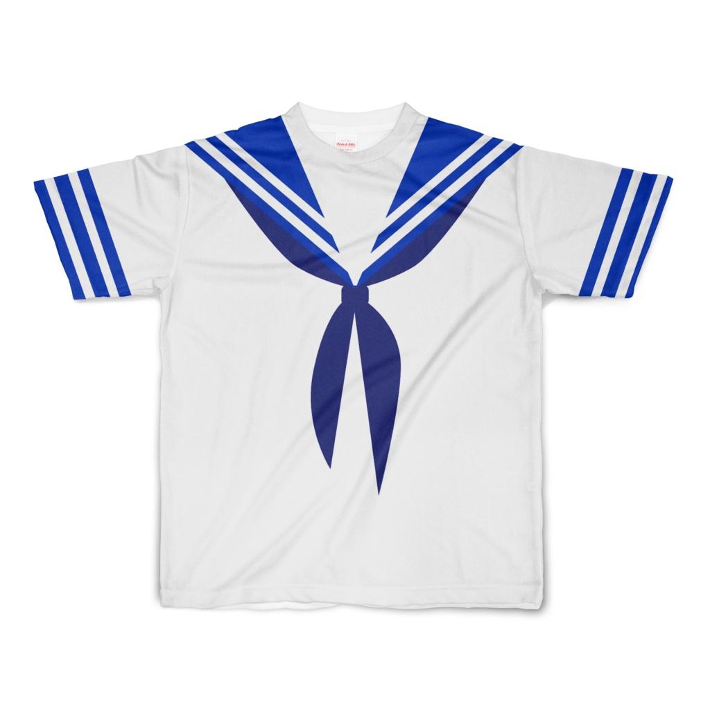 なんちゃってセーラー服 Tシャツ Sサイズ