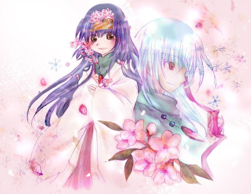 ポストカード「花咲み」