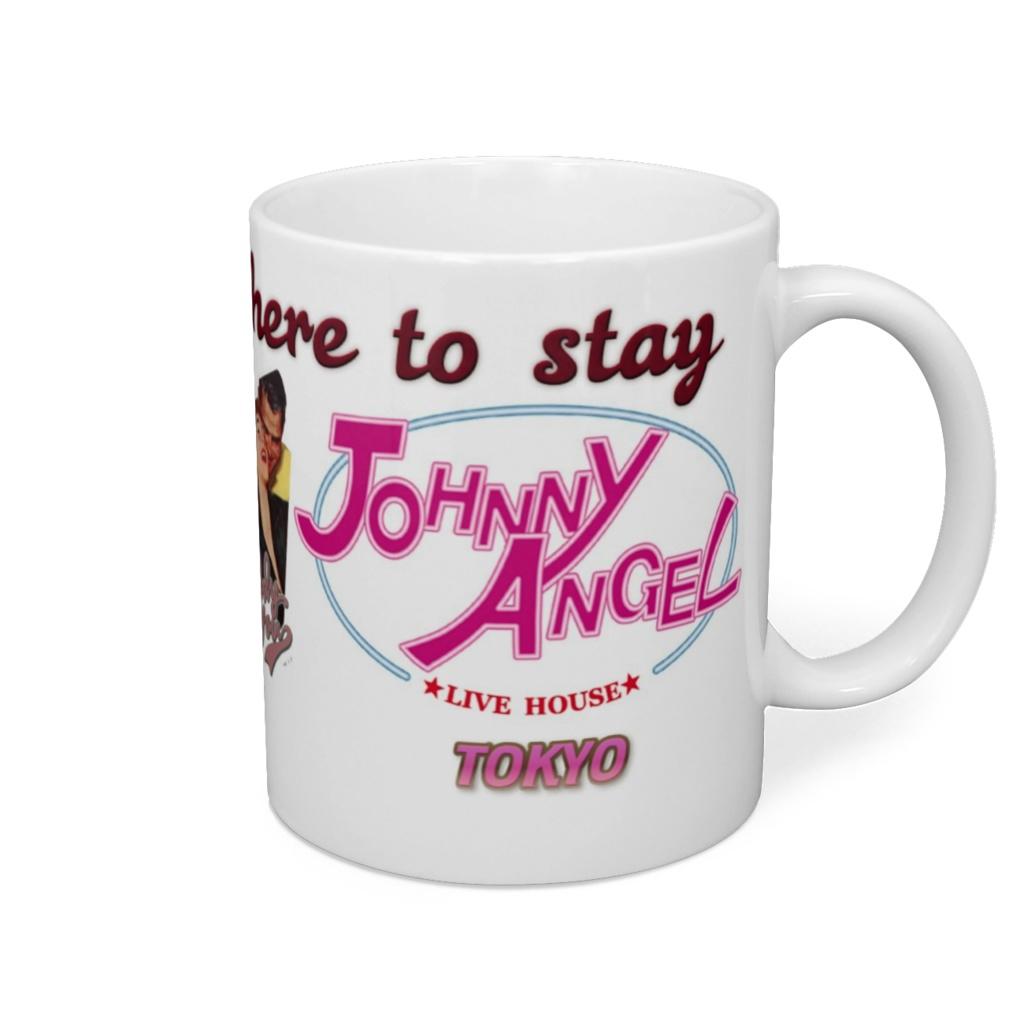 Live House Johnny Angel Tokyo MagCup Pop TipeB BLACK(ライブハウス ジョニーエンジェル東京ポップなマグカップ タイプB)